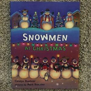 Snowmen At Christmas.Snowmen At Christmas By Caralyn Buehner Like New